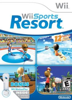 Wii Sports Resort a game for the Wii game console created by Nintendo in 2006. The wii is unlike any gaming system created before it. The controllers are motion controlled.