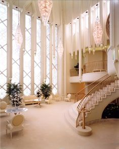 San Diego Temple Celestial Room.  Loooove!!...brings back so many memories and feelings seeing this...one of them:  Kevin and I said a prayer together up those stairs and to the right just before we were married and sealed together for time and all eternity! <3