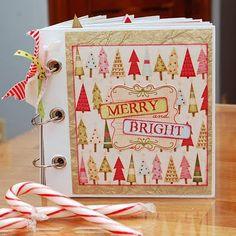 DIY christmas memory book