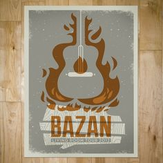 gig posters : bandito design co.