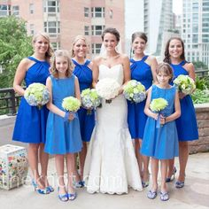 Bridesmaid dresses style and color