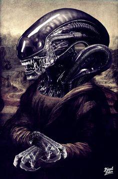 Alien Lisa by Pixelfaker