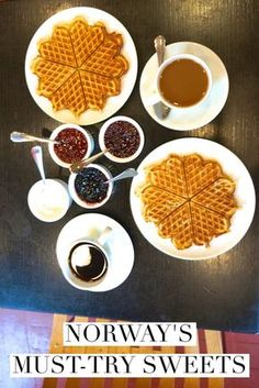 Norwegian pancakes, norwegian waffles, strawberry cake-- these are some of Norway's best sweets waiting to be discovered.