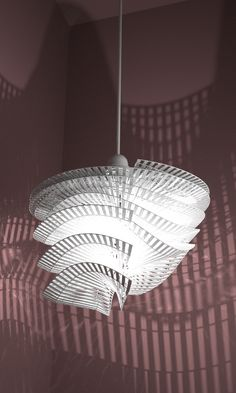 additive manufacturing (3d printing). Lampshade by studioluminaire.com