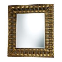 Benton Mirror In Springhill Gold