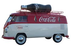 Coca Cola Van (Coke Bottle Outline)