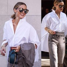 #oliviapalermo in #carolinaherrera after the #Herrera show #nyfw #ss17…