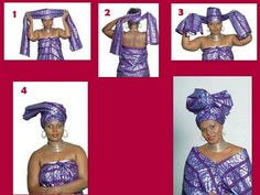 how to African head wraps | ... Corner International: Four Steps African Head Wrap, Made Easy For You