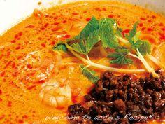 簡単本格ベトナム料理『トムヤム風フォー』: 辛いフォーは新鮮