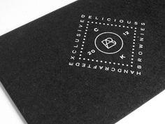 Brownies Atelier Business Card