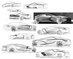 Changan Duality by Christopher Giroux Product Sketch, Car Sketch, Cool Sketches, Sketchbooks, Exotic Cars, Exterior Design, Design Projects, Industrial, Cars