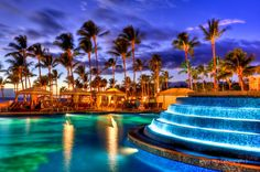 Grand Wailea in Maui.... best pool ever... with a slide and a water elevator