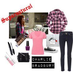 """Supernatural - Charlie Bradbury Set 2"" by fashionsenseandsensiblity0804 on Polyvore"