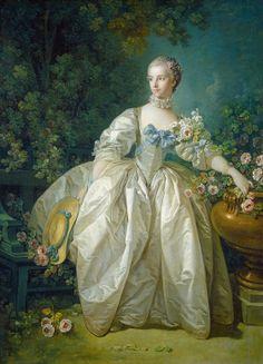 François Boucher  Madame Bergeret, possibly 1766