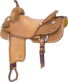 Saddlesmith of Texas Ballinger Ranch Cutter Saddle