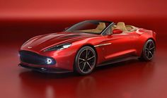 Aston Martin Vanquish Zagato Volante : le plus beau cabriolet de l'année ?