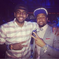 KYRIE IRVING!!! AND ODELL BECKHAM JR!!!!!!  ŁÏFĘ is Awesome Right Now!! ❤️