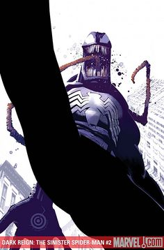 ArtVerso — Chris Bachalo - Dark Spider-Man