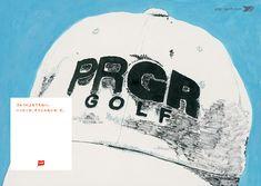 「PRGR」 横浜ゴムゴルフブランド広告 2007-