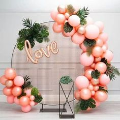 34 Creative Baby Shower Themes For Your Baby 2020 - Page 2 of 34 - coloredbikinis. Balloon Backdrop, Baby Shower Backdrop, Balloon Garland, Baby Shower Themes, Shower Baby, Baby Showers, Love Decorations, Birthday Balloon Decorations, Birthday Balloons