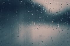 ☂️ - pavonia | ello    #rain #window #photography