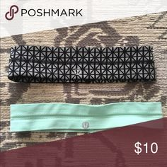 LuluLemon Headbands Excellent condition - each worn once. One Size lululemon athletica Accessories Hair Accessories