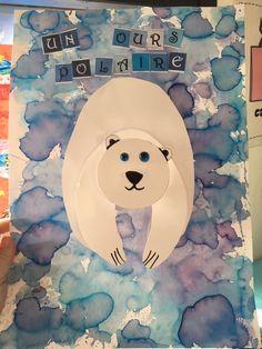 La classe de Teet et Marlou - Le blog de maîtresses passionnées Blog, Symbols, Letters, Voici, School, Polar Animals, Polar Bears, Bear Hunting, Polar Bear