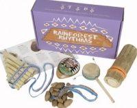 Fair Trade Rainforest Rhythms Instrument Pack