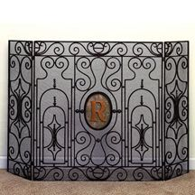Add character to your hearth with the Toscana Fireplace Screen ...