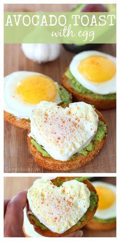 Easy Avocado Toast with Egg Recipe
