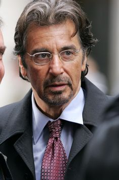 AL Pacino, his charisma and manly looks makes him a well loved celebrity