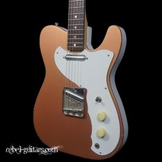 RS Guitarworks SlabElectro Guitar in Copper Tele meets Dano w/Lipstick pickups