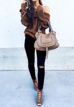 winter style chic