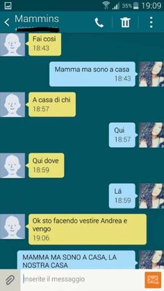 «Mamme che usano WhatsApp»: nasce una pagina Facebook per le chat più ridicole - Corriere.it True Memes, Funny Memes, Jokes, Fun Sms, Funny Chat, Italian Memes, Serious Quotes, Italian Words, Quality Memes