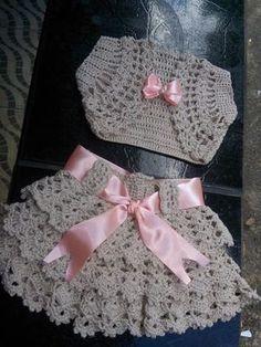 Conjunto de crochê | Kika Sousa croche | Elo7
