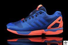 promo code 28075 35b3a Mens Adidas ZX Flux Weave 8000 OG B34896 Dark Blue Navy Orange Black0 dokuz  limited offer