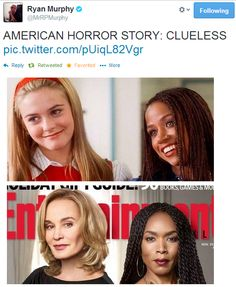 Like omg! As if! <3 Alicia Silverstone and Jessica Lange.
