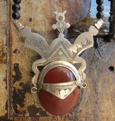 https://www.etsy.com/listing/161158428/tuareg-silver-amulet-with-carnelean