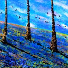 View Michelder Woods in Spring II by Paul J Best. Discover more Acrylic Paintings for sale. FREE Delivery and 14 Day Returns. Original Art, Original Paintings, Paintings For Sale, Landscape Art, Free Delivery, Woods, Interior Decorating, Around The Worlds, Artists