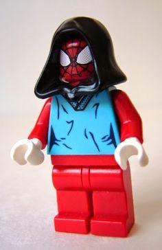 Toyriffic: Scarlet Spider LEGO Minifigure Custom