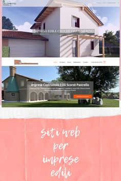 Siti web responsive per imprese locali con varie personalizzazioni. Web Responsive, Garage Doors, Layout, Mansions, Website, House Styles, Outdoor Decor, Ideas, Home Decor