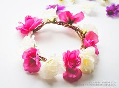 DIY Flower Crown Tutorial | Wonder Forest: Design Your Life.