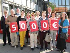5000 Euro der Sparkasse Kraichgau für Vereine und soziale Einrichtungen in Sinsheim