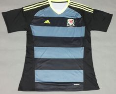 2016 Wales Away Thailand Soccer Jersey