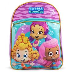"""Buy Bubble Guppies """"Molly's Here"""" Plush Backpack Kids Bag with Zipper Pouch at online store Best Kids Backpacks, Back To School Backpacks, Nick Jr, Cool School Bags, Bubble Guppies Birthday, Luggage Case, Little Mermaid Parties, 2nd Birthday Parties, Birthday Ideas"""