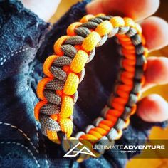 Gray and Orange Paracord Survival Bracelet from www.ultimateadventures.co.za  #gray #grey #orange #bracelet #paracord #paracord550 #paracordsurvival #paracordsurvivalbracelet #survival #paracordporn #outdoorgear #survivalbracelet #survivalparacord #survivaladventure #edc #everydaycarry #adventure #survivalgear #adventuregear #adventurebracelet #ultimateadventure #ultimateadventureco #ultimateadventures #paracordon #cordcraft #craft #outdoorcraft