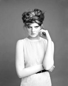 PUBLISHED - Salon Business. Hair - Sophie Laidlaw. Photographer - Louise Nicholson. Stylist - Laura Blyth. Model - Claire Thompson