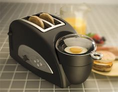 Just got this as a gift.  GENIUS!  Even my picky-eater scarfed down an egg, cheese and muffin sandwich for snack!