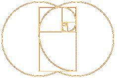 Vesica Pisces Geometries   Vesica pisces with golden mean spiral