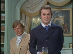 The Persuaders, Tony Curtis, Roger Moore, male actors, tv series, dear memories, photo.